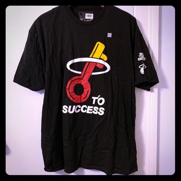 NBA Other - DJ Khaled/Miami Heat mashup T-Shirt, size 3XL